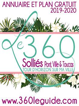 guides des commerces et artisans du 360 de la ville du Beausset