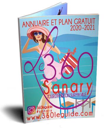 annuaire du 360 de la ville de Sanary